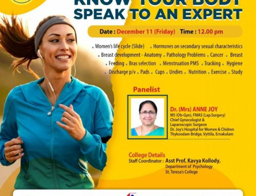 'Know Your Body-Speak to an Expert'-Awareness program on Women's Health