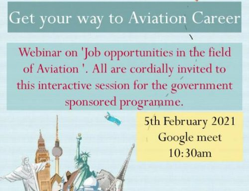 webinar on job opportunities in aviation