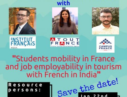 International webinar: Students mobility in France and Job employability in Tourism with French in India'