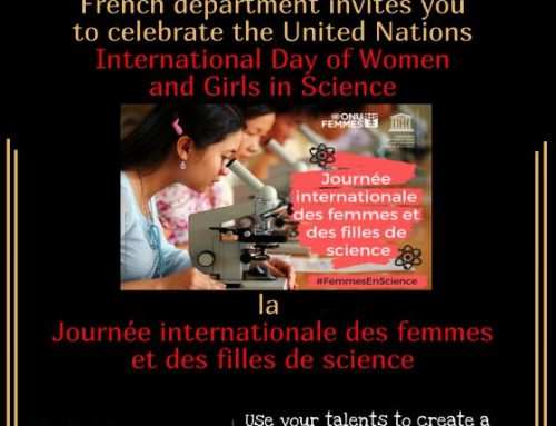 French Department celebrates United Nations' International Day of Women and Girls in Science 2021