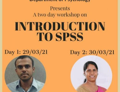 "Workshop on ""Introduction To SPSS"""
