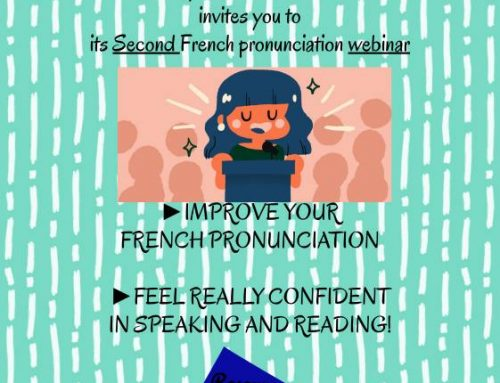 "International webinar on ""French Pronunciation"""