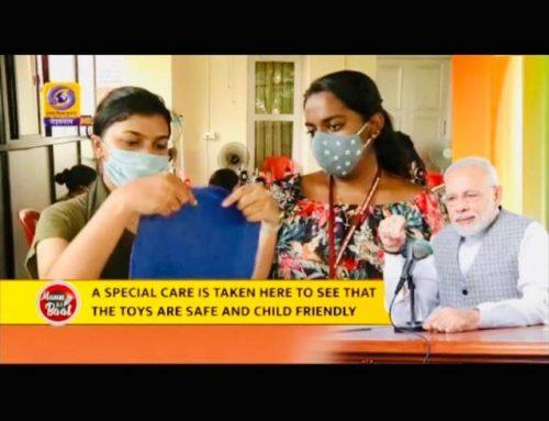 DMS Students and PM Narendra Modi's Mann ki Baat