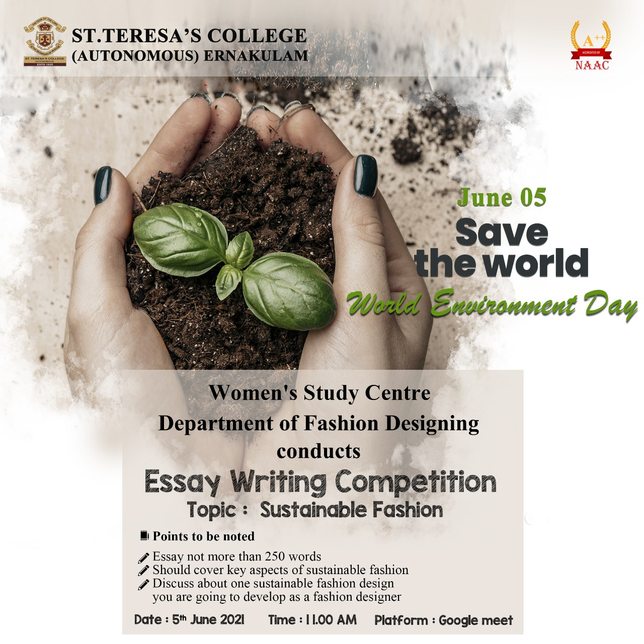 World Environment Day Essay Competition