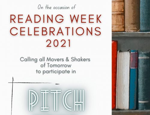 Pitch Your Book' – Reading Day Celebration 2021