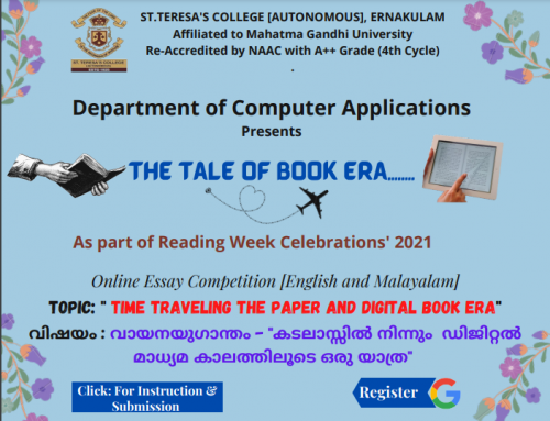 Tale of Book Era – Reading Day Celebrations