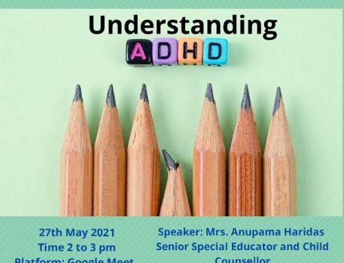 Webinar on 'Understanding ADHD' by Department of Home Science