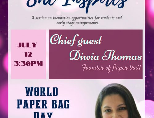She Inspires – World Paper Bag Day.