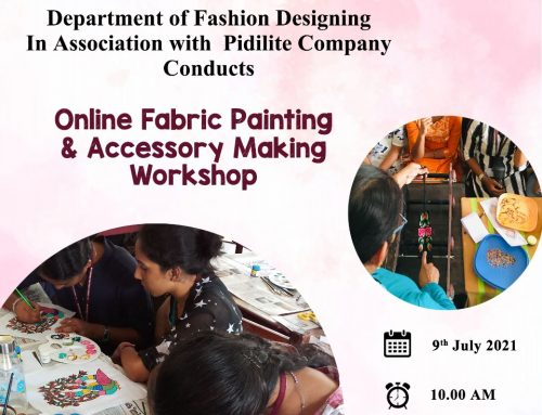 Online Fabric Painting and Accessory Making Workshop