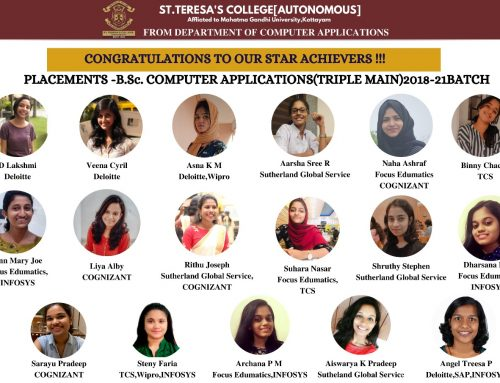 Placements 2021 – BSc.Computer Applications (Triple Main)