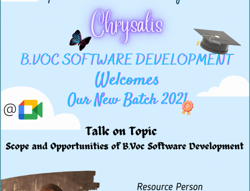 Department Induction Program – Chrysalis
