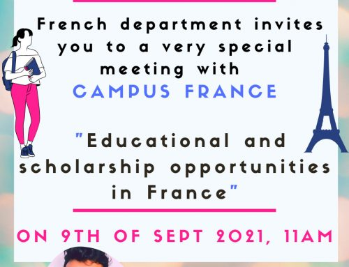 Study in France with Scholarship
