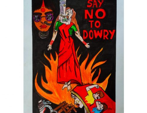 Poster designing competition: 'No to dowry'