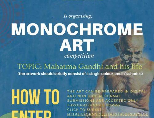 INDIGO '21- MONOCHROME ART COMPETITION