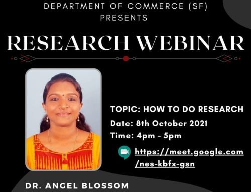 RESEARCH WEBINAR- HOW TO DO RESEARCH?